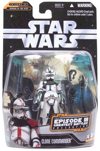 (Star Wars Greatest Hits Basic Figure Episode 3 Clone Commander)