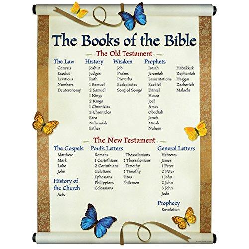 Carson Dellosa Christian The Books of The Bible Chart (6327) -