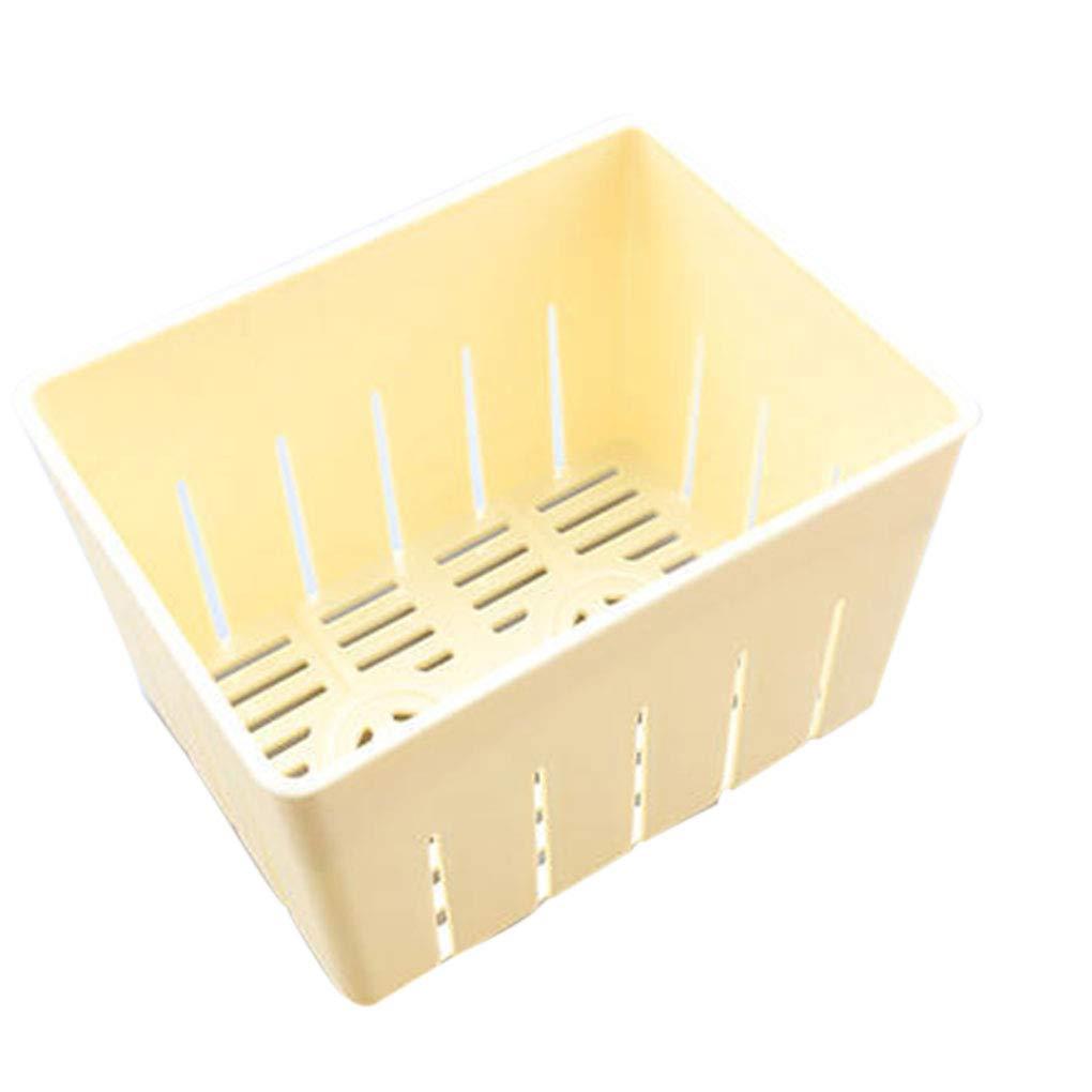Windy5 Tofu Press-Maker Moule Bricolage Moule Plastique Maison Caill/é de soja avec Fromage Tissu Cuisine Outil de Cuisson