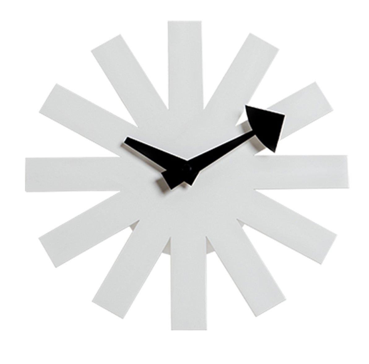 MLF®アスタリスククロック 白い ジョージ ネルソン デザイナー壁時計 B01EYDAGS4 白い アスタリスククロック 白い アスタリスククロック