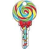 Lucky Line Key Shapes, Lollipop, House Key Blank, SC1, 1 Key (B140S)