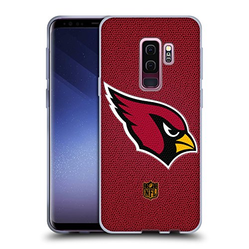 Official NFL Football Arizona Cardinals Logo Soft Gel Case for Samsung Galaxy S9+ / S9 ()