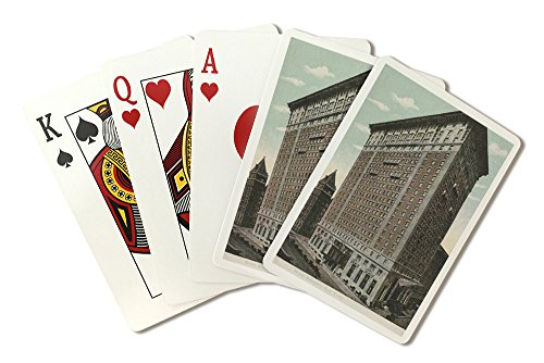 New York, NY - Hotel Belmont View (Playing Card Deck - 52 Card Poker Size with Jokers)