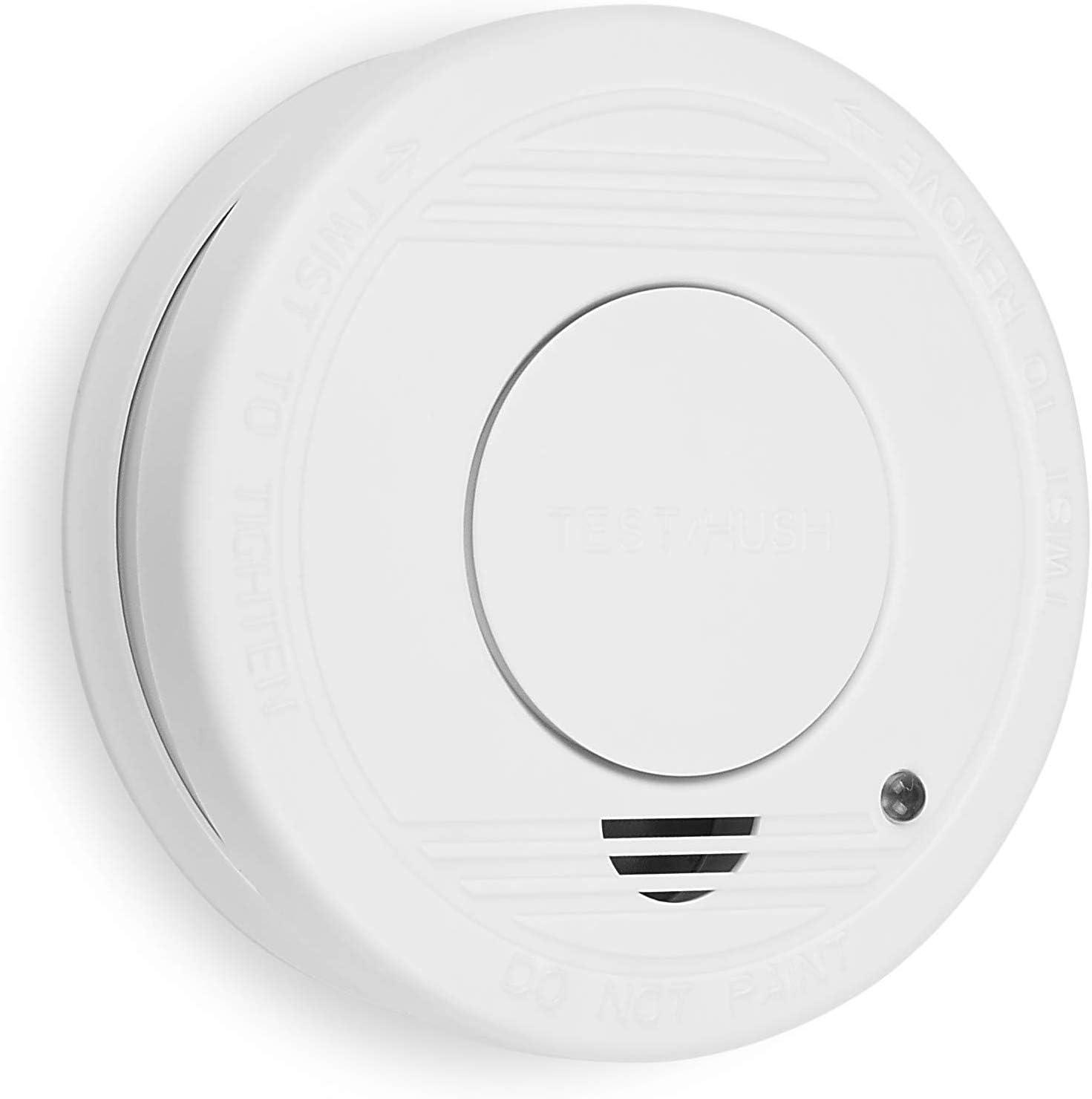 Smartwares RM250 10.044.62 Detector de humo, batería incluida, botón de prueba, 85dB