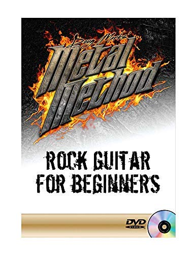 Rock Guitar for Beginners (includes: 1 DVD, tab, play along backing tracks)