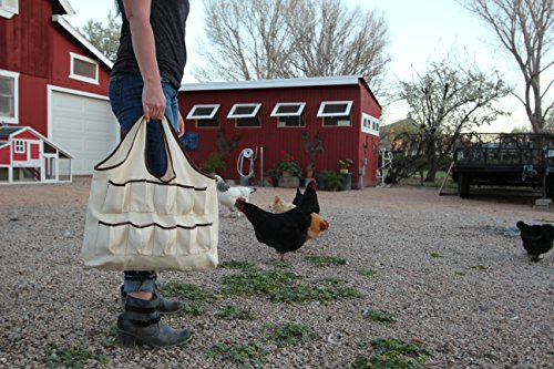 Gardening Bag with Egg Pockets (Chicken Egg Bag)