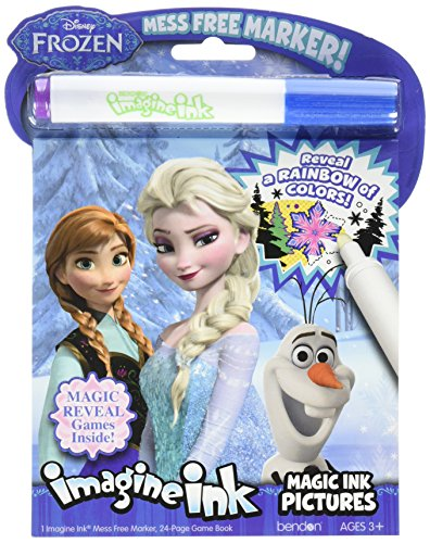 Halloween Costumes Ideas For 2 Friends (Bendon 10988 Disney Frozen Imagine Ink Magic Ink Pictures)