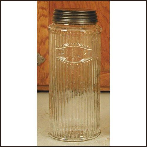 Colonial Tin Works Sellers/Hoosier Flour Jar