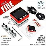 M5Stack New PSRAM 2.0! FIRE IoT Kit Dual Core ESP32 16M-Flash+4M-PSRAM Development Board MIC/BLE MPU9250 of Micropython (FIRE)