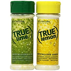 True Lemon and True Lime Shaker Kit (2pk) 7 <p>For cooking, baking and seasoning. INCLUDED: 1 Lemon Shaker & 1 Lime Shaker Perfect for cooking, baking and seasoning 0 calories, 0g carbs, 0g sugar and no artificial sweeteners No artificial colors, preservatives, sodium or gluten ½ tsp = 1 Tbsp. lemon juice</p>