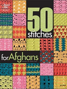 (50 Stitches for Afghans Crochet Booklet )