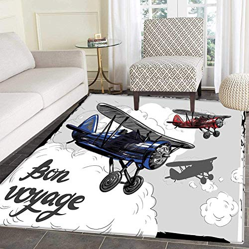 Top Airplane Rugs For Bedroom Kids Allace Reviews