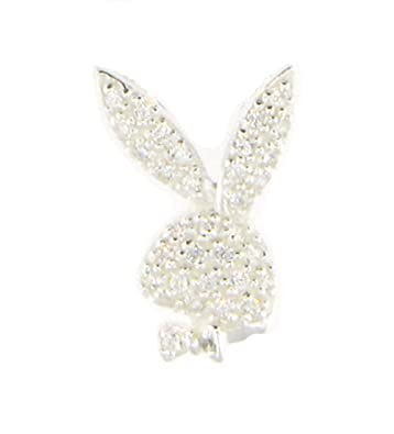 Amazon jambs jewelry 925 sterling cz playboy bunny pendant for jambs jewelry 925 sterling cz playboy bunny pendant for chain aloadofball Image collections