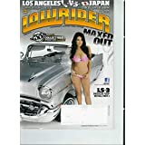 Low Rider February 2012 35 Years in the Life 1977-2012 (Foldout) (Cover) '57 Platinum Chevy LS-3 Mock up + Morticia 1947 Fleetline Aerosedan