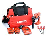 Hilti 03490195 Cordless Compact Rotary Hammer Drill Kit, 18-volt