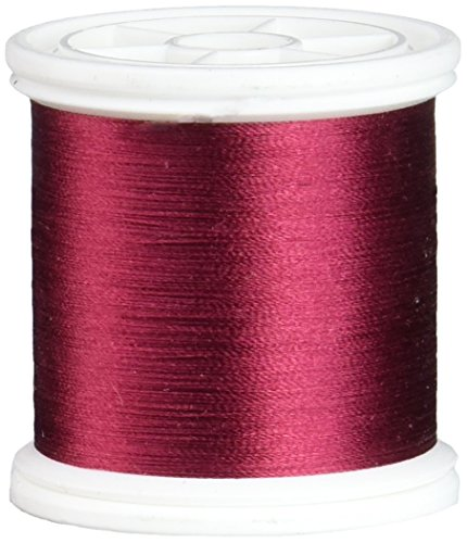 (YLI 20210-267 100wt T-12 Silk Thread, 200m, Burgundy)