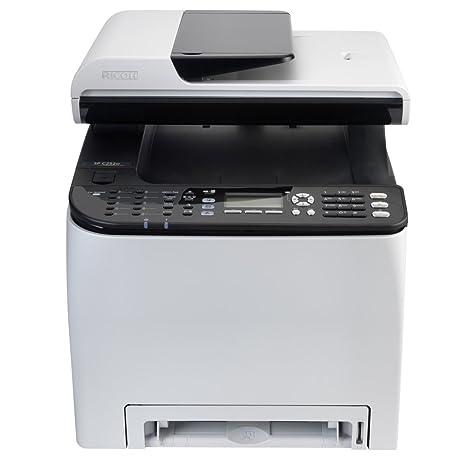 Ricoh SPC250SF Laser Color - Impresora multifunción láser (2400 x 600 dpi, 20 ppm, fax)