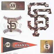 MLB 5-Piece 3D Multi-Magnets (1 Sheet)
