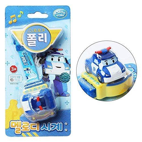 [해외]Robocar Poli [Poli] Melody Clock watch Digital clock어린이 장난감 선물 [병행 수입품] / Robocar Poli [Poli] Melody clock watch Digital clockChildren`s toy gift [parallel import]