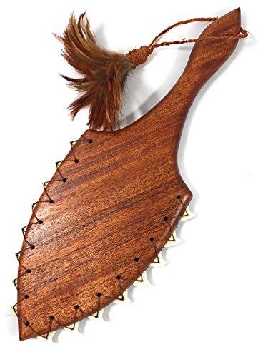 Alii Hawaiian War Club 19'' - Shark Teeth - Made In Hawaii | #koalom007 by TikiMaster