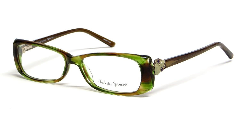 Valerie Spencer 9266 in Tea Designer Reading Glasses , Demo Lens