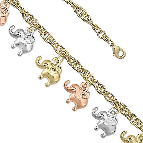 Elephant Tri Color Bracelet (7