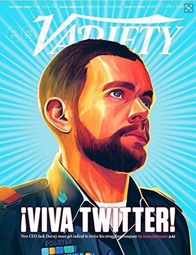 VARIETY Magazine October 20, 2015 - Twitter CEO Jack Dorsey Cover, NWA Movie