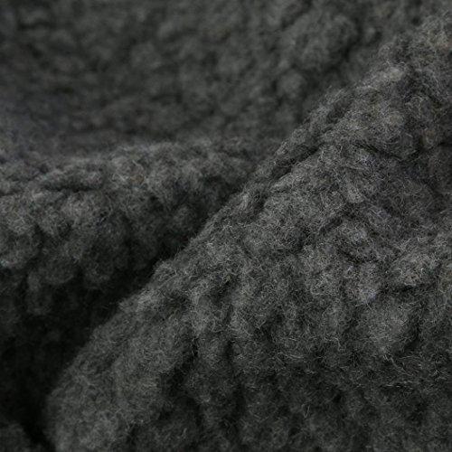 Aurorax Women Fashion Loose Lambswool Winter Warm Long Sleeve Warm Thick Jacket Long Coat Outwear (Green, XL) by auroraX (Image #2)