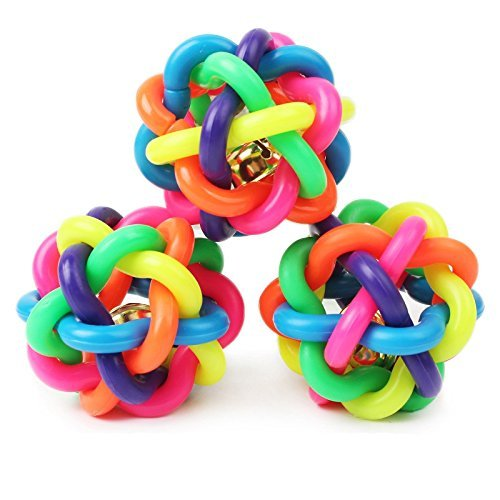 asypets-puppy-dog-toy-colorful-bouncy-rubber-balls-with-bell-for-pet-training-playing-chewing-size-2