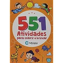 Bioterm 551 Atividades para colorir e brincar