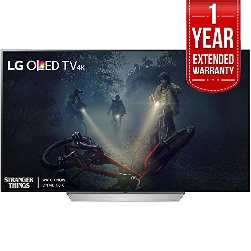 LG C7 OLED 4K HDR Smart TV (2018 Model) Plus Extended 1 Year Warranty Bundle (65-inch)