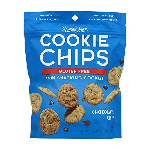 HannahMax Gluten Free Chocolate Chip Cookie Chips, 8 Count