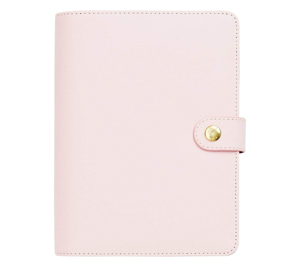 kikki.K Leather Personal Planner Medium: Pink