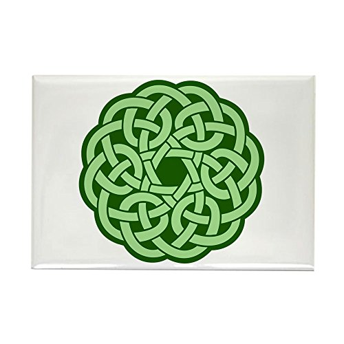 Rectangle Magnet Celtic Knot Wreath ()