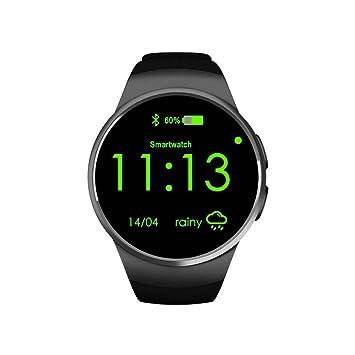 Reloj teléfono inteligente, impermeable reloj inteligente, Bluetooth 4.0, cámara, música, pantalla