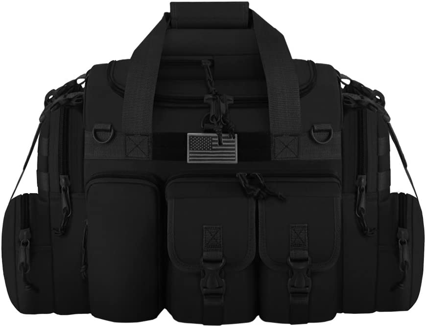 "East West U.S.A Tactical Outdoor Multi Pockets Heavy Duty 22"" Duffel Bag"
