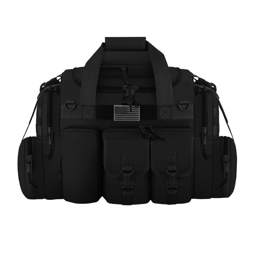 East West U.S.A Tactical Outdoor Multi Pockets Heavy Duty 22 Duffel Bag