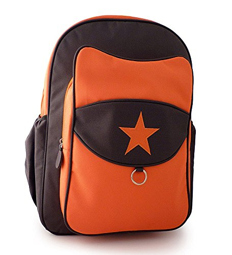 Milkdot Top Kat Backpack, Tangerine