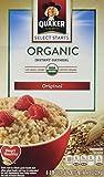 Quaker Oats Select Starts, Organic Instant Oatmeal, Original, 7.9 Ounces (Pack of 2)
