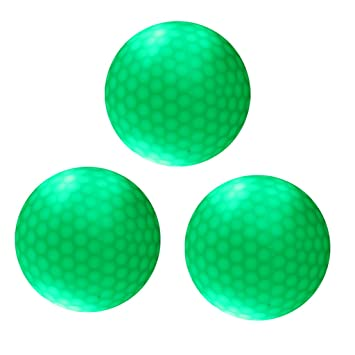 Sharplace 3 Pcs de Pelota Bola de Golf Noche con LED Verde ...