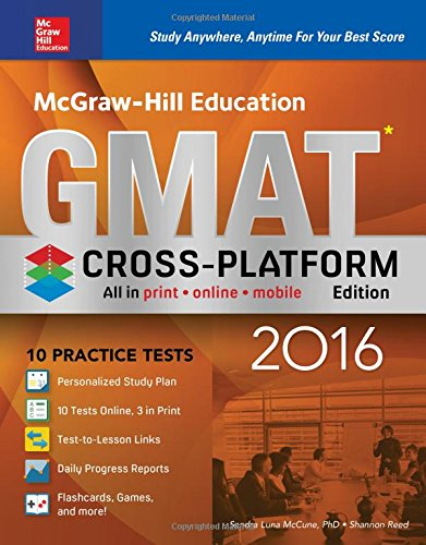 Reed Item Number - McGraw-Hill Education GMAT 2016, Cross-Platform Edition