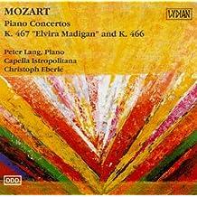 Mozart : Piano Concertos K. 467 Elvira Madigan and K. 466 by Piano Peter Lang (1992-08-03)