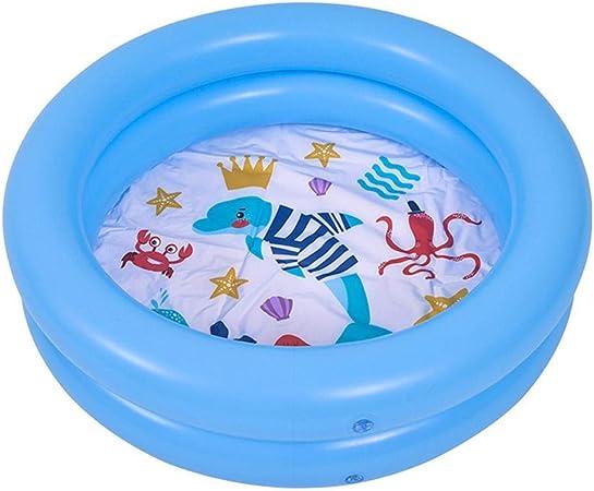 Piscina para bebés, Base de Burbujas Gruesa Resistente al Desgaste Suave, Juguete de Piscina de Juegos de Agua Inflable para niños Verano cálido, Fresco en Verano, Protección del Medio Ambiente PVC: Amazon.es: