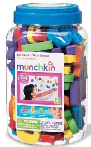 Munchkin mer & apprendre les formes de baignoire