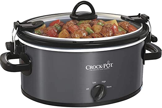 Crock-Pot SCV401-TR 4-Quart Manual Slow Cooker Red Slow Cookers ...