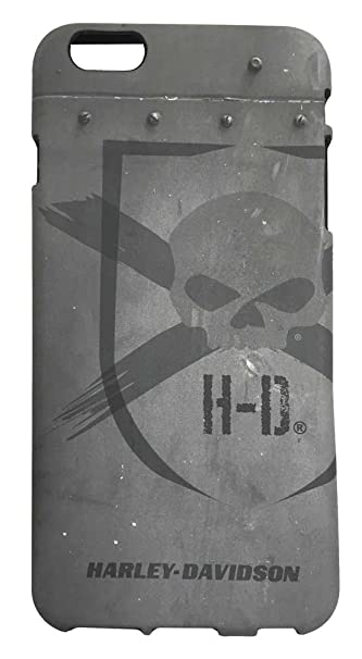 sneakers for cheap 148d5 ecff0 Harley-Davidson iPhone 6 Plus Shell, Distressed Willie G Skull TPU Case  07730