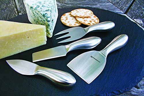Swissmar Petite Cheese Knife Set, SK8214SS