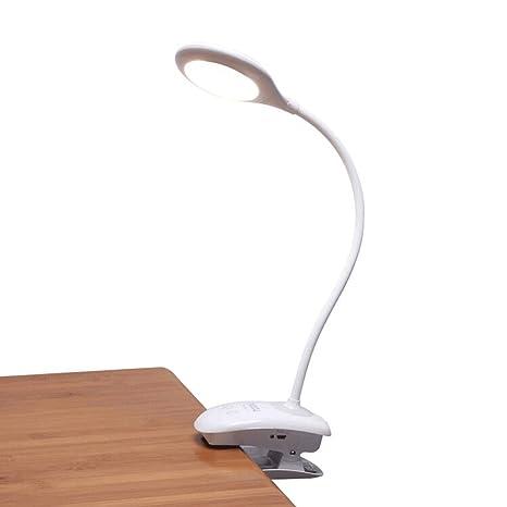Miady - Lámpara LED de lectura para mesilla de noche con ...