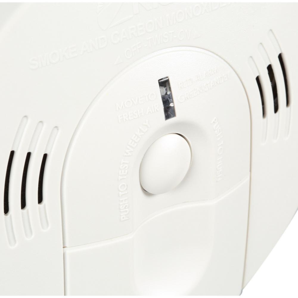 Kidde Intelligent Alarm Battery Operated Combination Smoke & Carbon  Monoxide Alarm KN-COSM-XTR-BA - - Amazon.com