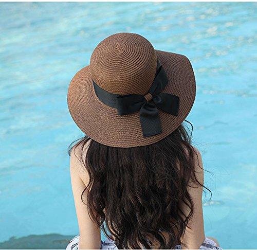 A Femminile B Estivo Da Spiaggia Cappello Sole Pieghevole Ghmm Visiera colore O1z4aqF